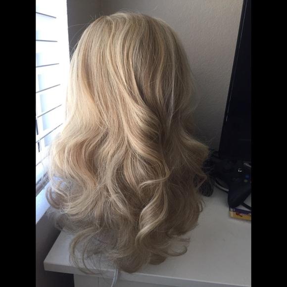 Hairdo Accessories Golden Wheat Light Blonde Hair Extensions